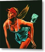 Maria Sharapova  Metal Print by Paul Meijering