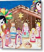 Maria Sofia And The Nativity Metal Print