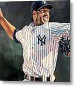 Mariano Rivera - New York Yankees Metal Print