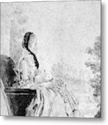 Marie De Vichy-chamrond (1679-1780) Metal Print