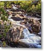 Marie Lakes Stream Metal Print