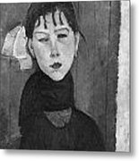 Marie Young Woman Of The People Metal Print