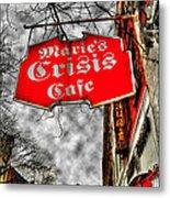 Marie's Crisis Cafe Metal Print