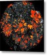 Marigold Fire Metal Print