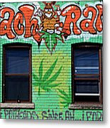 Marijuana 3 Metal Print