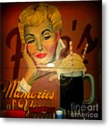 Marilyn And Fitz's Metal Print