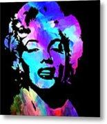 Marilyn Art Metal Print by Kenneth Feliciano