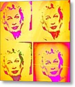 Marilyn Grew Up Metal Print