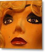 Marilyn Mannequin Metal Print