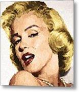 Marilyn Monroe 08 Metal Print