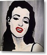Marilyn Monroe Aka Norma Jean The Beginning Metal Print