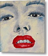 Marilyn Monroe Metal Print by David Patterson