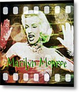 Marilyn Monroe Film Metal Print