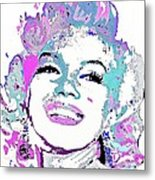 Marilyn Monroe I Want To Be Loved By You Metal Print
