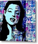Marilyn Monroe. Loved Lost . Loved Again 2 Metal Print