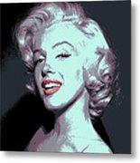 Marilyn Monroe Pop Art Metal Print by Daniel Hagerman