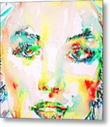 Marilyn Monroe Portrait.5 Metal Print