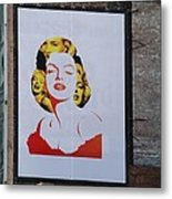 Marilyn Monroe Metal Print by Rob Hans