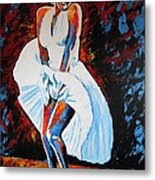 Marilyn Monroe The Seven Year Itch Metal Print