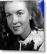 Marilyn Monroe Then Norma Jeane Dougherty Photo By H. Maier Studios Los Angeles Ca C.1943-2014 Metal Print