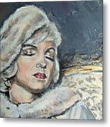 Marilyn Monroe - Unfinished Metal Print