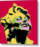 Marilyn Three Metal Print