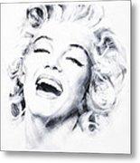 Marilyn 3 Metal Print