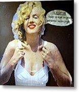 Marilyns Pointers Metal Print