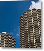 Marina City Morning Metal Print