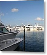 Marina Key West - Harbored Fun Metal Print