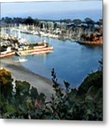 Marina Overlook Metal Print
