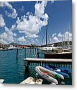Marina St Thomas Virgin Islands Metal Print
