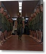 Marine Basic Training Metal Print