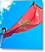 Marine Corps Flag Metal Print