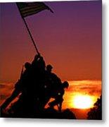 Marine Corps Memorial Metal Print