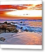 Marineland Sunrise Metal Print