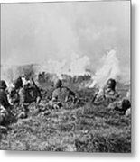 Marines Fought Retreating Japanese Hill Metal Print