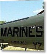 Marines Metal Print