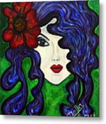 Mariposa Fairy Queen Metal Print