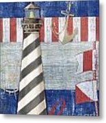 Maritime Lighthouse II Metal Print