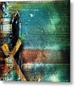 Mark 1 Metal Print by Switchvues Design