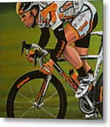 Mark Cavendish Metal Print by Paul Meijering
