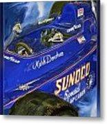 Mark Donohue 1972 Indy 500 Winning Car Metal Print