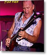 Mark Rocking In Lewiston 2 Metal Print