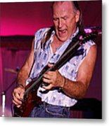 Mark Rocking In Lewiston 2009 Metal Print