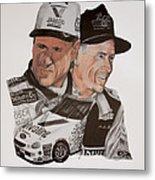 Mark Martin Race Car Driver Metal Print