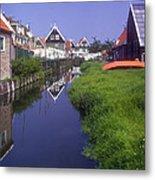 Marken Canal Metal Print
