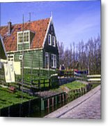 Marken Village Architecture Metal Print