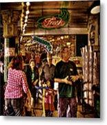 Market Fresh At Pike Place Market Metal Print