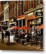 Market Square - Knoxville Tennessee Metal Print